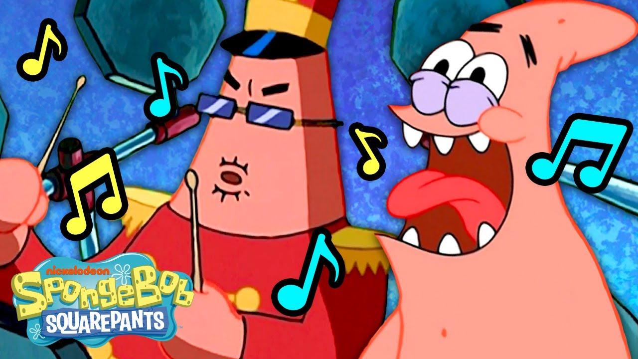 Patrick Star's Most MUSICAL Moments! 🎶 | SpongeBob