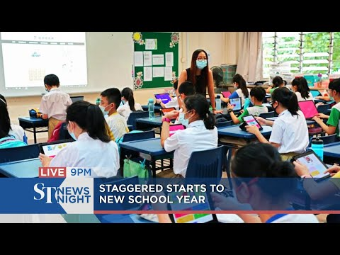 Staggered starts to new school year | ST NEWS NIGHT thumbnail