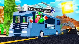CAMPING WITH AN RV IN MINECRAFT!