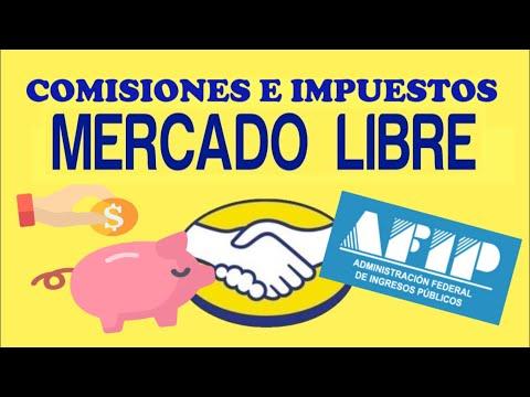 Comisiones e impuestos de Mercado Libre Argentina