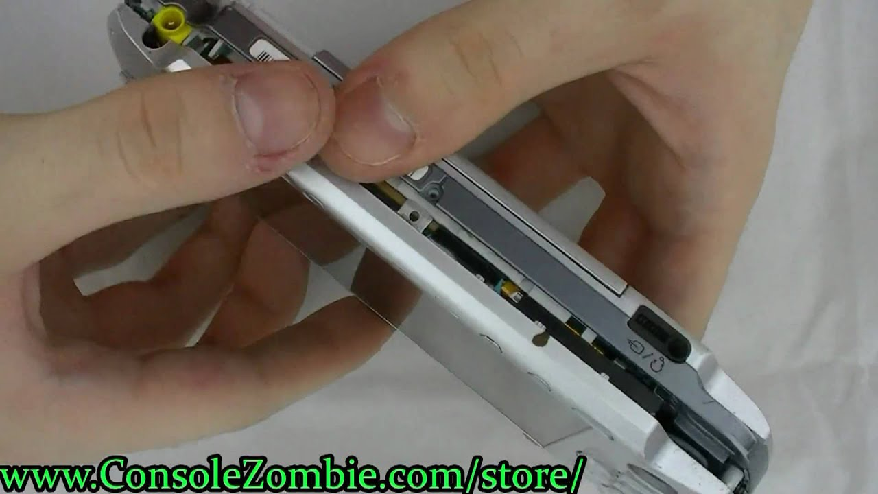 how to fix screen on psp