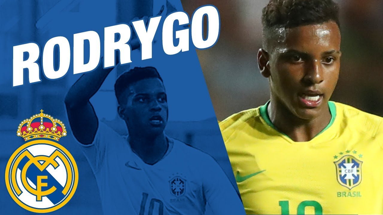 Rodrygo Goes New Real Madrid Player