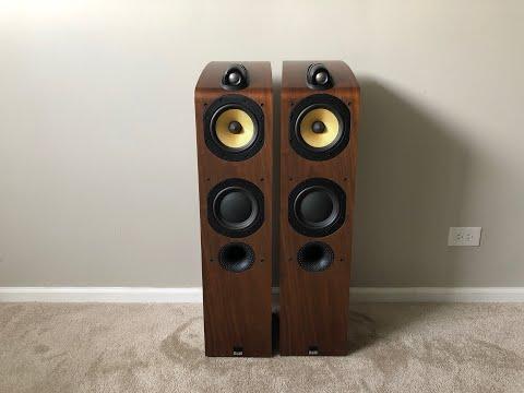Bowers & Wilkins B&W 704 Tower Home Floor Standing Speakers