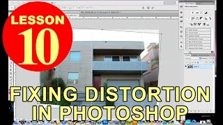 Lesson 10 - Fixing distortion in Photoshop (Photography Tutorials)