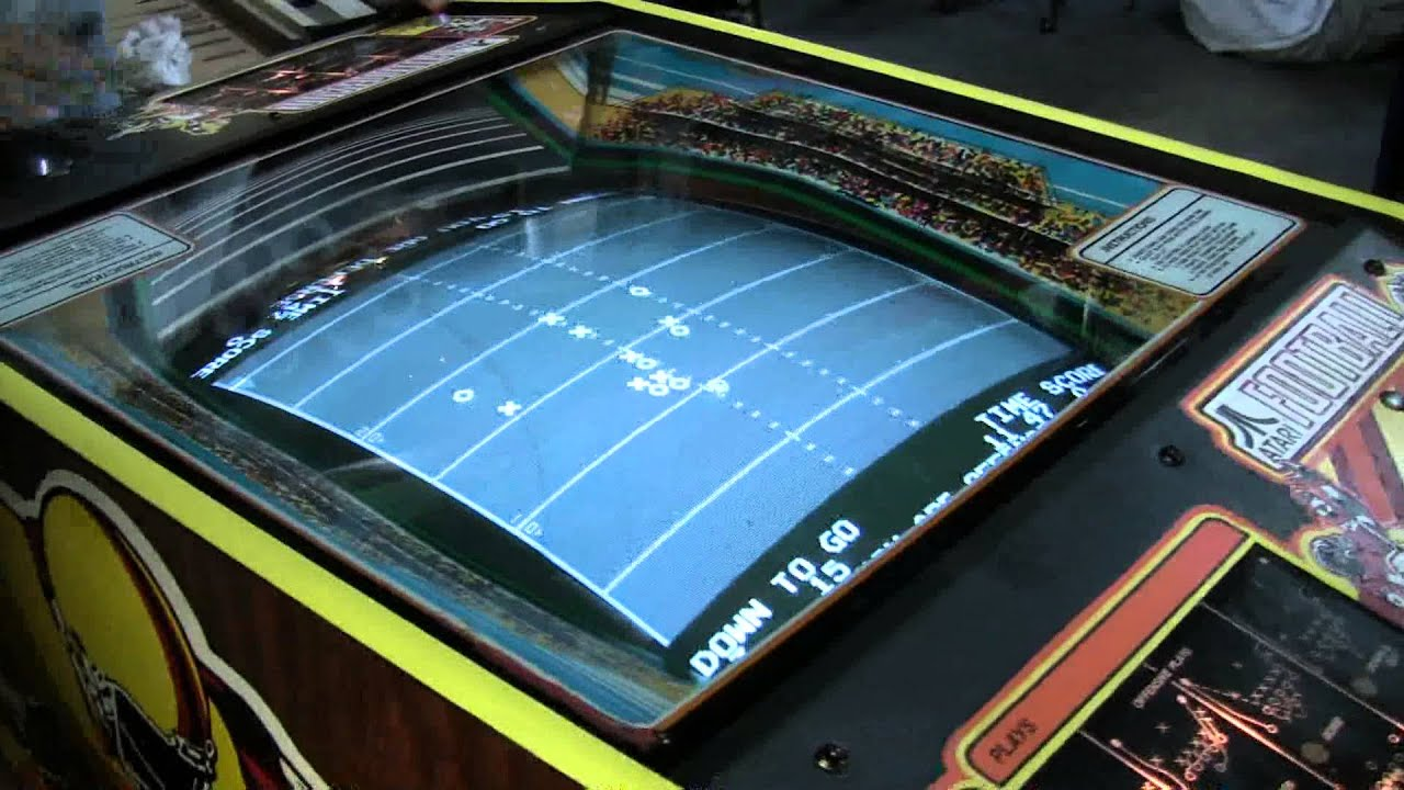 239 atari football x 39 s and o 39 s arcade video game cocktail table tnt amusements youtube. Black Bedroom Furniture Sets. Home Design Ideas