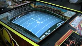 "#239 Atari Football ""x's And O's"" Arcade Video Game Cocktail Table - Tnt Amusements"