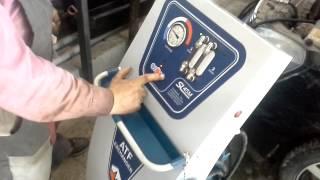 Замена масла в АКПП аппаратом SL045M