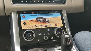 Range Rover InControl Touch Pro Duo Infotainment  System Fully Explained | Motoroids