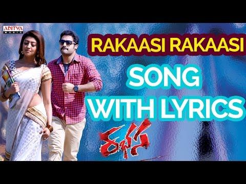 Rakasi Rakasi Song With Lyrics - Rabasa Full Songs - Rabhasa - Jr, Samantha