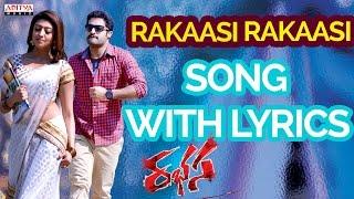 Rakasi Rakasi Song With Lyrics - Rabasa Full Songs - Rabhasa - Jr.NTR, Samantha