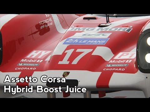 Assetto Corsa : Hybrid Boost Juice (Porsche 919 @ Spa)