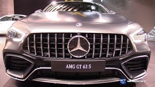 2019 Mercedes AMG GT 63 S - Exterior and Interior Walkaround - Debut 2018 New York Auto Show