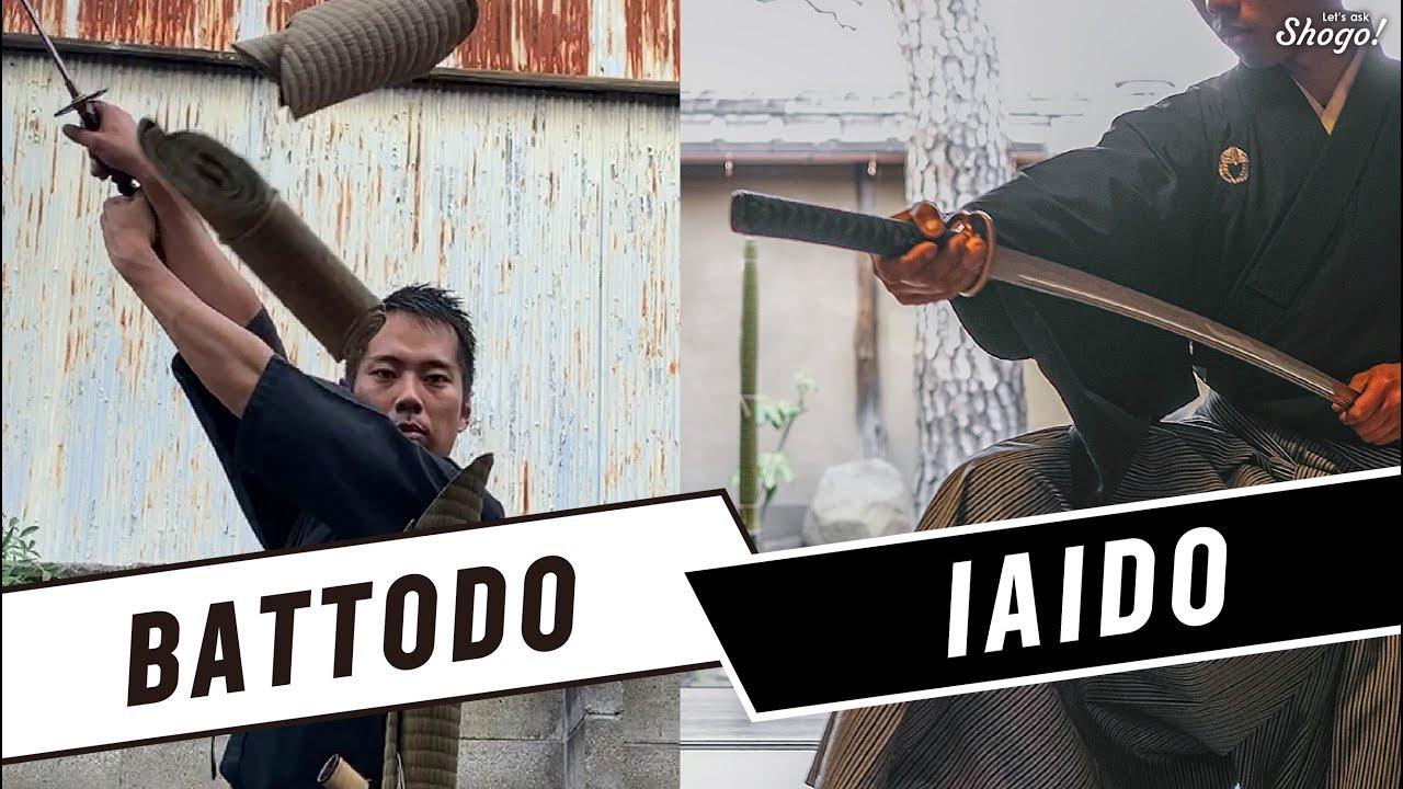 The 3 differences between iaido/iaijutsu & battodo/battojutsu! Why they have a complex relationship