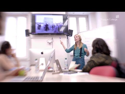 Study Creative Media Production at Prague College