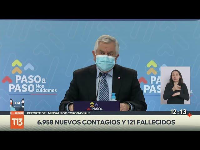 Coronavirus en Chile: reporte Minsal 7 de junio