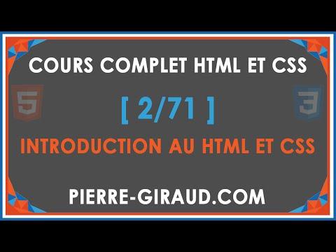 COURS COMPLET HTML ET CSS [2/71] - Pourquoi apprendre à coder ?