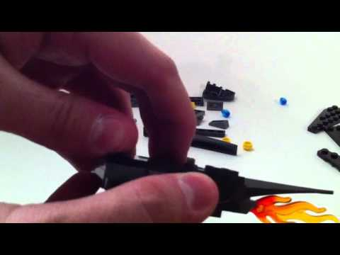 LEGO Live construction : Batwing battle over Gotham City (3/