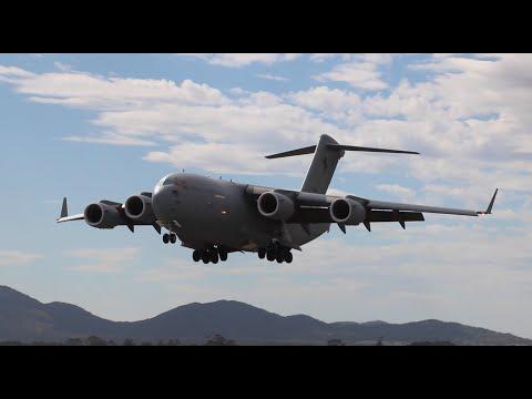 C-17A Globemaster III at the 2015 Avalon Airshow (Australian International Airshow)
