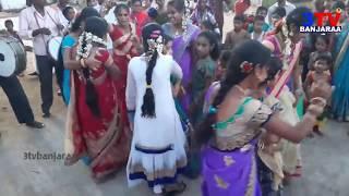 Non Stop Teen Maar Dance on Band Bits by Banjara Girls at Laxmi Thanda ! Sachin // 3TV BANJARAA