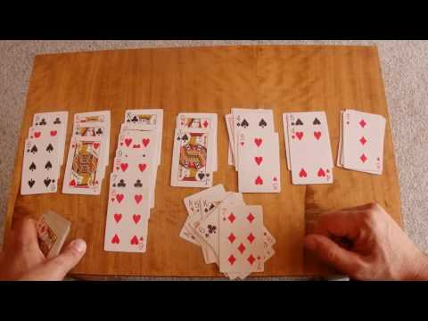 ASMR - Playing Solitaire - Australian Accent - Describing Each Move with a Quiet Whisper