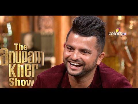 Suresh Raina - The Anupam Kher Show - Season 2 - 6th September 2015