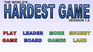 The World's Hardest Game