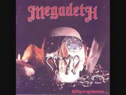 Megadeth Killing is my Business Original