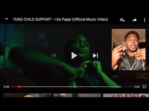 yung child support Im da Pappi AKA Blasphemous HD official music video reaction