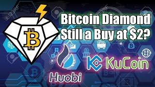 Should I Buy Bitcoin Diamond After Bitcoin Bloodbath? Huobi Kucoin