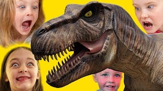 Fun Dinosaur Park Adventure | T-REX Dinosaurs Videos for Kids by Kinder Playtime