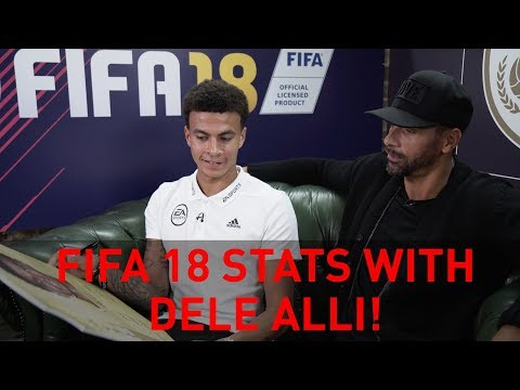 Discussing FIFA 18 stats with Tottenham Hotspur's Dele Alli!