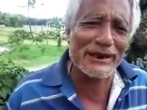 Assamese old man funny talking about place