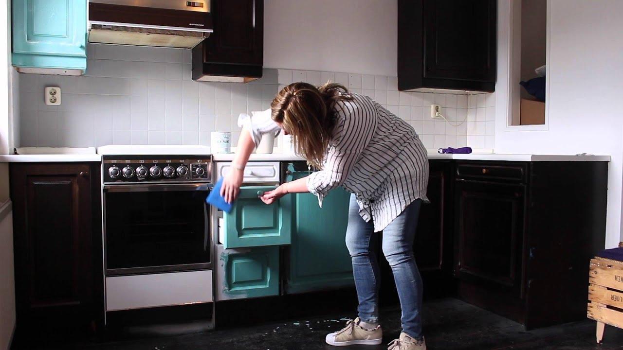 Keukenkastjes Wit Schilderen : Keukenkastjes wit schilderen eigentijdse eiken houten keuken wit