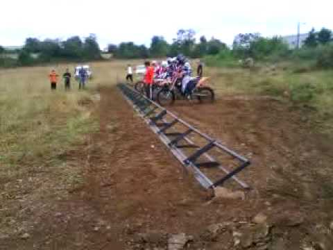 Gsf Starting Gate Motocross Youtube