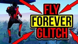 Fortnite Fly Forever Glitch! Fortnite Glitches