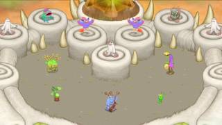 My Singing Monsters - Simpsons Theme (Full Song) (Composer Island) (Ft. Shyffle)