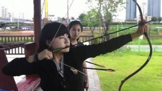 Korean Archery - Da Hyang Jung