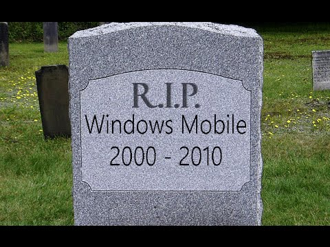 Кладбище Microsoft. Windows Mobile