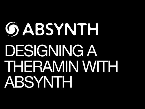 Native Instruments Absynth - The Classic Ambient Theremin - How To Tutorial