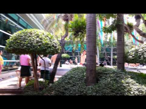 Song Kran in Babylon Bangkok, Thailand 2013 shot with mobile phone.