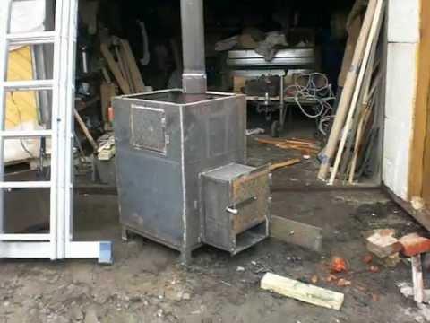 видео: Протопка печи