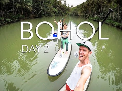 BOHOL | LOBOK RIVER | SUP VLOG DAY 2: THE PHILIPPINES