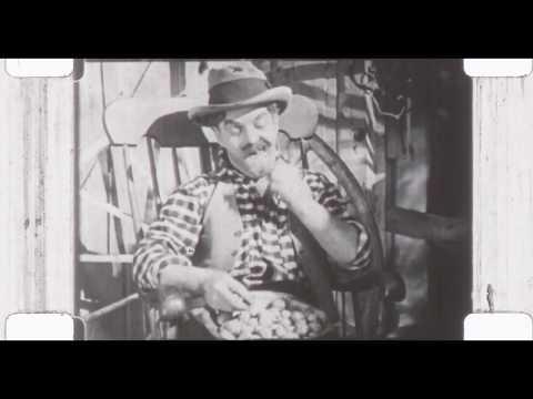 Mickey McGuire Farm Comedy Excerpt (16mm Silent)