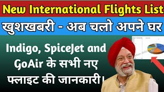 New International Flights With 24 Destination in India From 02 nd July Onward, Check Complete List!!