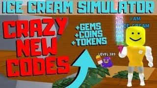 NEW GEM & TOKEN CODES UPDATE! | Ice Cream Simulator (Roblox)
