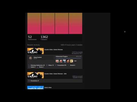 Steam Profile Exploits [ Gif Avatar / Custom Level / Music ] -PATCHED-