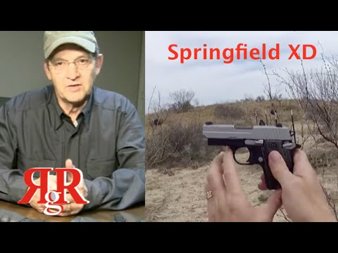 Springfield XD Subcompact 9mm On the Range Review