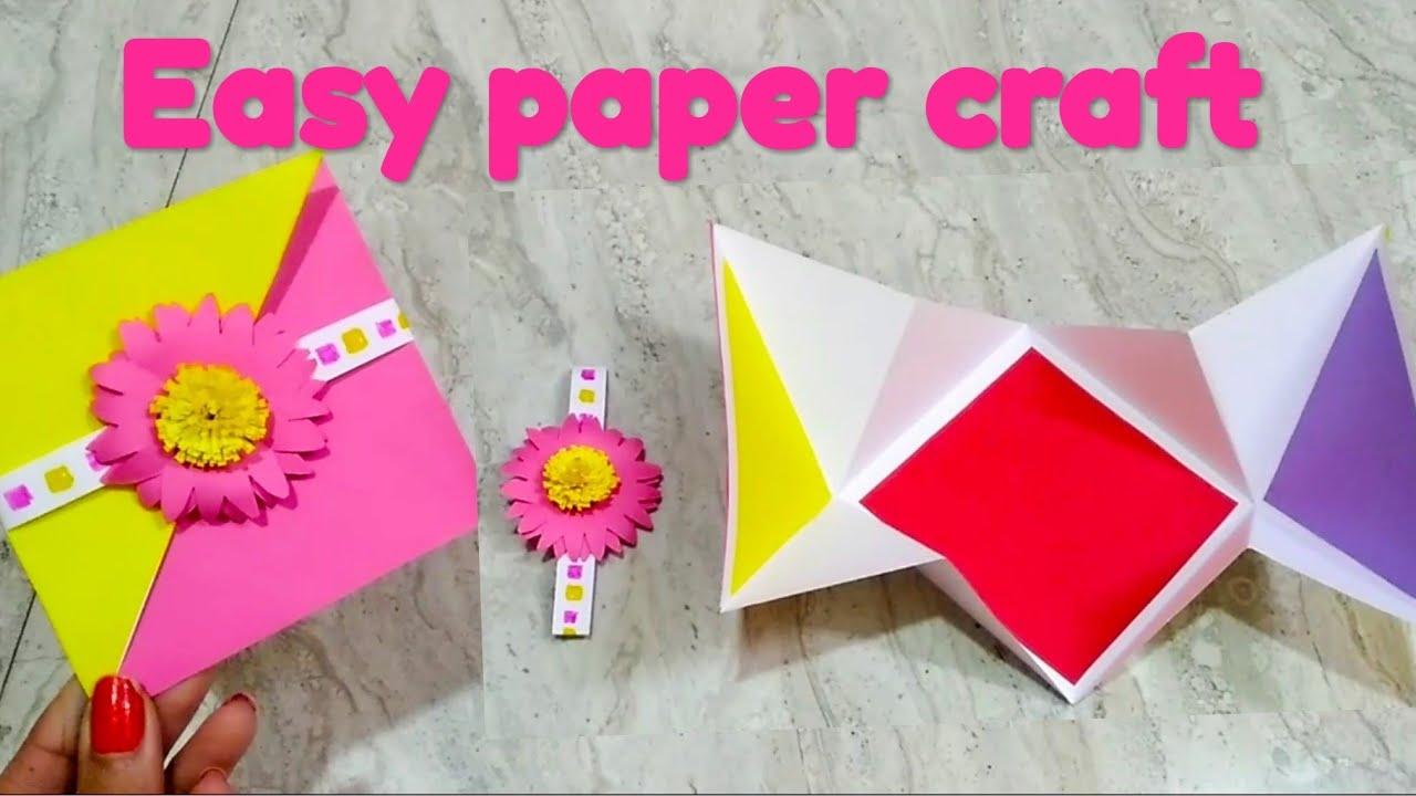 easy origami envelopesecret card  youtube
