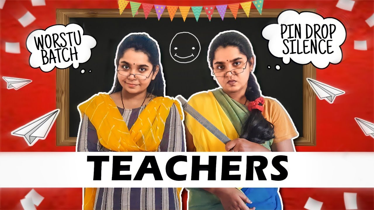 Types Of Teachers We All Had In School | Back to School | Tamil comedy videos | Simply Sruthi