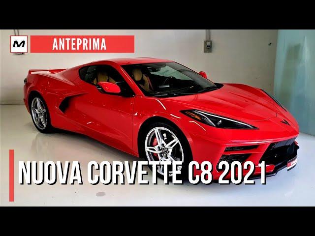 CORVETTE C8 2021: PIU' EUROPEA e MENO AMERICANA. Le caratteristiche e i prezzi